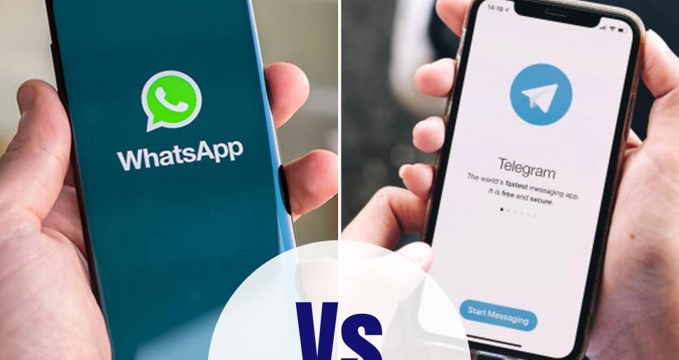 Whatapp vs telegram
